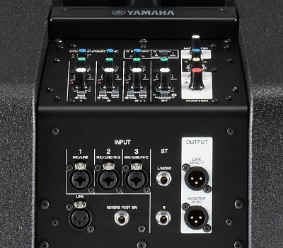 Mixer da Yamaha Seasson pass